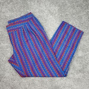 Colorful Size XL Pants from Bisou Bisou